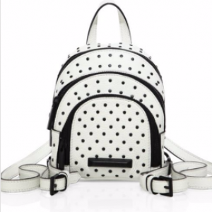 Sloane Nano Studded Leather Backpack