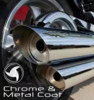 Bike Chrome & Metal Coat