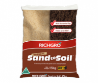 NATURAL SAND TO SOIL