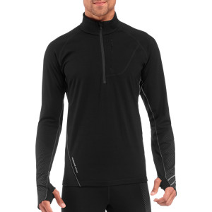 Icebreaker Drive Zip-Neck Shirt Long-Sleeve Men's