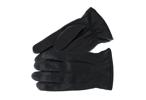 Leather Touch Screen Gloves - Men