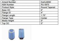 AMSOIL Ea Universal Air Induction Filters
