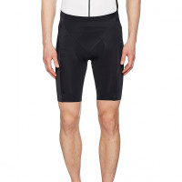 Men's Cycling Shorts with Padding, Breathable, GORE Selected Fabrics, Tights short +, Size: S, Black, TELEMT