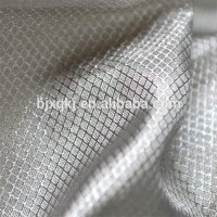 100% nano silver fiber Electromagnetic Antiradiation Fabric For Electric Work