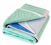 Aleva® Bed Pad Washable - ABSO® 3 litre Waterproof PU 1x1m + tuck-ins