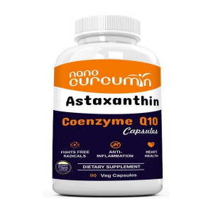 NANO CURCUMIN WITH ASTAXANTHIN AND CO ENZYME Q10 - 90 VEG CAPSULES