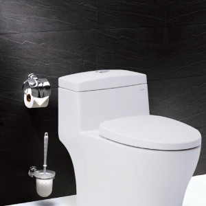 Two-stage water-saving single toilet