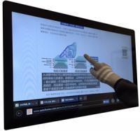 High sensitivity large size capacitive touch screen iVTP