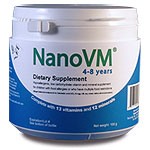 NanoVM 4 to 8 Years Nutrition Information