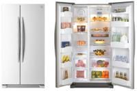 Side By Side Refrigerator 618L
