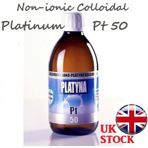 300ml PLATINUM Colloidal Non-ionic Pt50 Nano