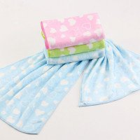 China Wholesale customize Print nanofiber super absorbent Cleaning Cloth Microfiber hair towels