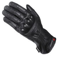 Held rain star goretex men´s leather-textile black gloves