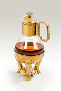 Golden Hot Drinks Holders