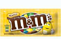 M&Ms with peanuts