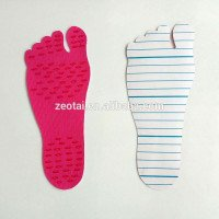 Gel silicone cushion sticky feet pads heel insole for boys