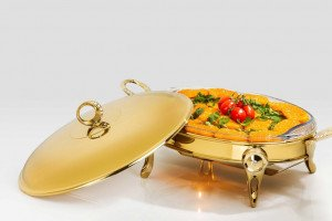 Golden Catering Dishes