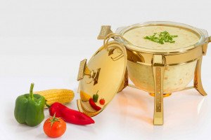 Golden Serving Soup