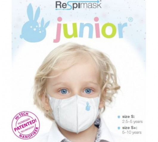 Antiviral face mask for children (2,5 - 5 years)