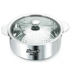 Stainless Steel Insulated Roti Saver Casserole with Coaster